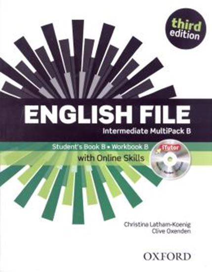 Picture of ENGLISH FILE INTERMEDIATE B MULTIPACK - WITH ONLINE SKILLS - 3RD ED