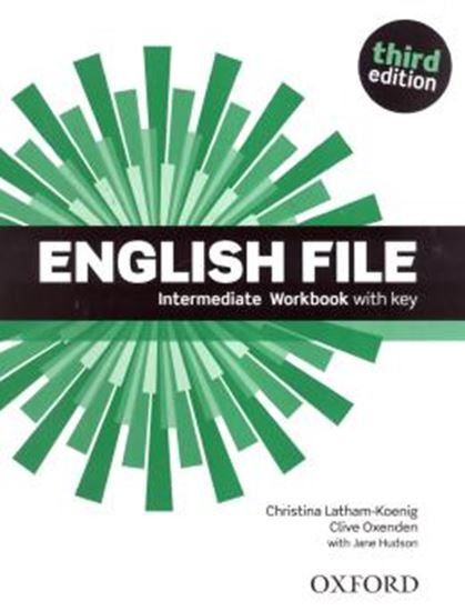 Picture of ENGLISH FILE INTERMEDIATE WB WITH KEY - 3RD ED