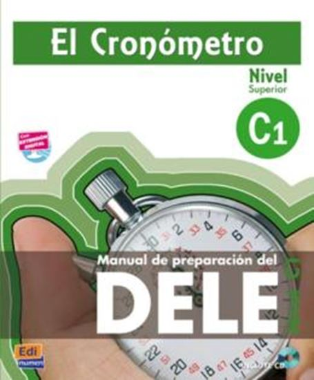 Picture of CRONOMETRO, EL - MANUAL DE PREPARACION DEL DELE C1 LIBRO + CD