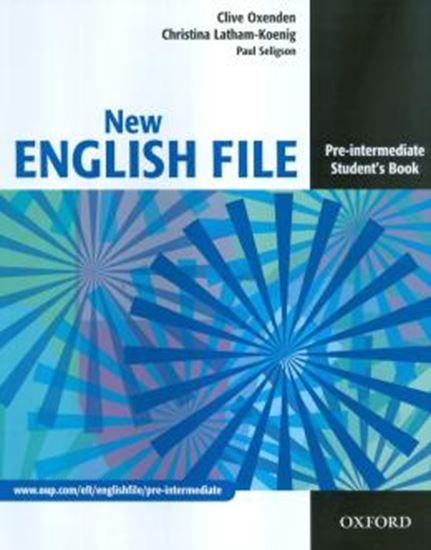 Picture of NEW ENGLISH FILE PRE-INTERMEDIATE STUDENT´S BOOK