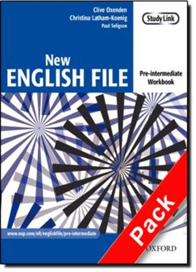 Picture of NEW ENGLISH FILE PRE-INTERMEDIATE WORKBOOK WITH MULTIROM