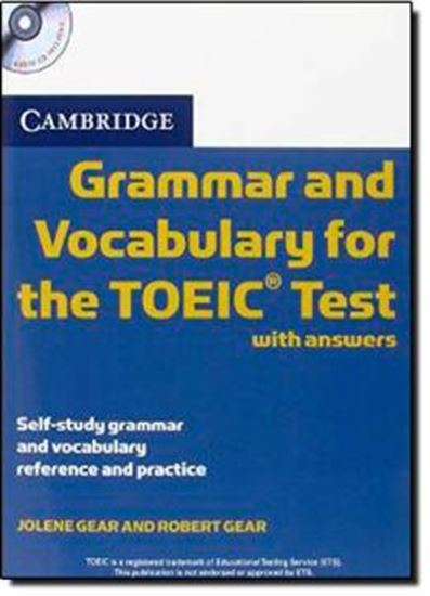 Picture of CAMBRIDGE GRAMMAR AND VOCABULARY FOR THE TOEIC TEST WITH ANSWERS AND AUDIO CDS (2) - SELF-STUDY REFERENCE AND PRACTICE
