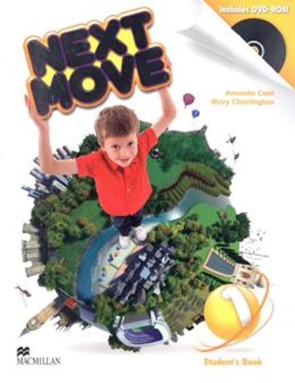 Picture of NEXT MOVE 1 STUDENTS BOOK WITH DVD-ROM