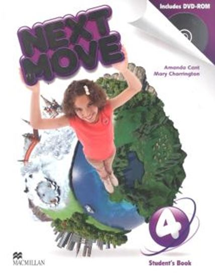 Picture of NEXT MOVE 4 STUDENTS BOOK WITH DVD-ROM