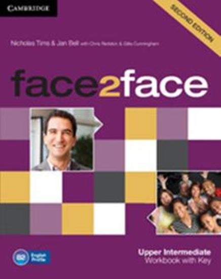Picture of FACE2FACE UPPER INTERMERMEDIATE WORKBOOK WITH KEY - 2ND ED