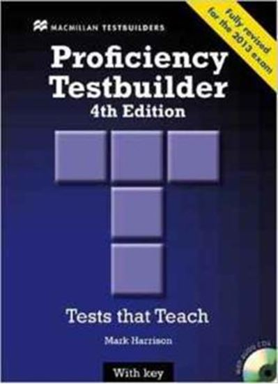 Picture of NEW PROFICIENCY TESTBUILDER WITH AUDIO CD WITH KEY - 4TH ED