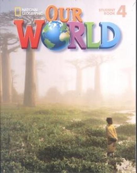 Picture of OUR WORLD 4 STUDENT BOOK WITH CD-ROM