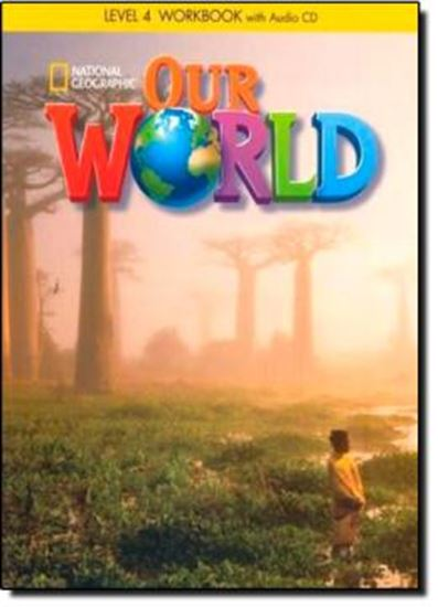 Picture of OUR WORLD 4 WORKBOOK WITH AUDIO CD