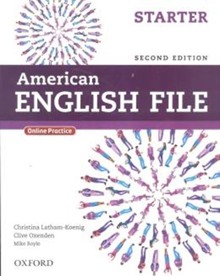 Picture of AMERICAN ENGLISH FILE STARTER SB WITH ONLINE PRACTICE - 2ND ED