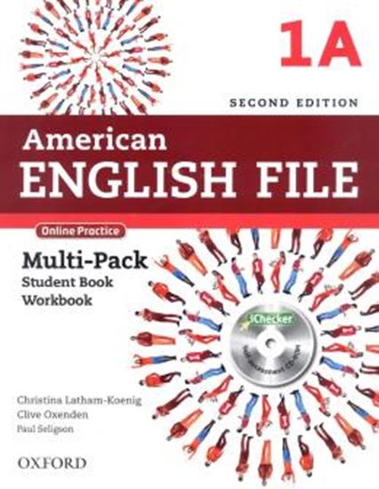 Picture of AMERICAN ENGLISH FILE 1A MULTIPK WITH ONLINE PRACTICE AND ICHECKER CD-ROM - 2ND ED