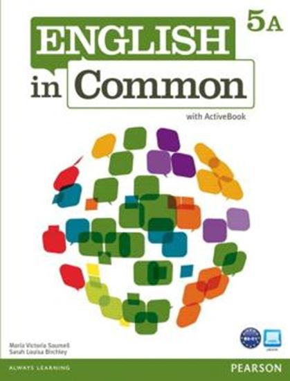 Picture of ENGLISH IN COMMON 5A SPLIT STUDENT BOOK WITH ACTIVEBOOK AND WORKBOOK