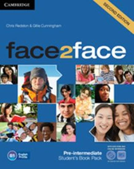 Picture of FACE2FACE PRE-INTERMEDIATE STUDENTS BOOK WITH DVD-ROM AND ONLINE WORKBOOK PACK - 2ND ED