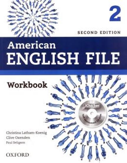 Picture of AMERICAN ENGLISH FILE 2 WORKBOOK WITH ICHECKER - 2ND ED