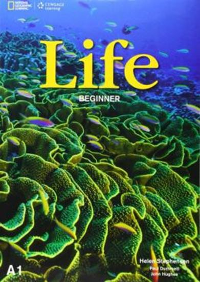 Picture of LIFE BEGINNER SB WITH DVD - BRITISH