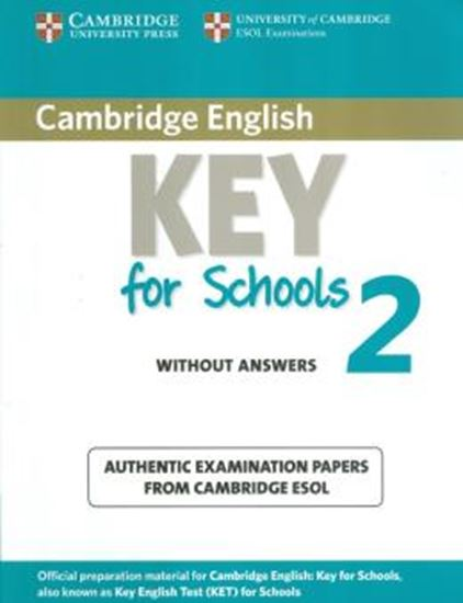 Picture of CAMBRIDGE ENGLISH KEY FOR SCHOOLS 2 STUDENTS