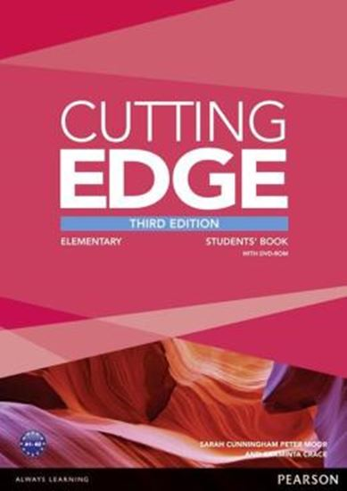 Picture of CUTTING EDGE ELEMENTARY STUDENTS BOOK WITH DVD - 3RD ED