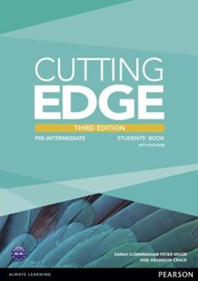 Picture of CUTTING EDGE PRE-INTERMEDIATE STUDENTS BOOK (WITH DVD) - 3RD ED