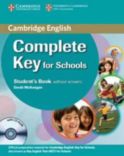 Picture of COMPLETE KEY FOR SCHOOLS STUDENTS BOOK WITHOUT ANSWERS WITH CD-ROM
