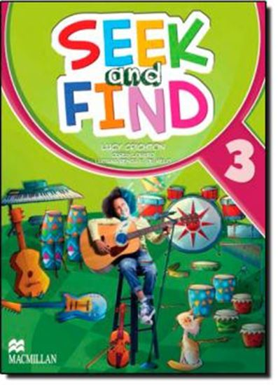 Picture of SEEK AND FIND 3 STUDENTS BOOK WITH MULTI ROM & DIGITAL BOOK