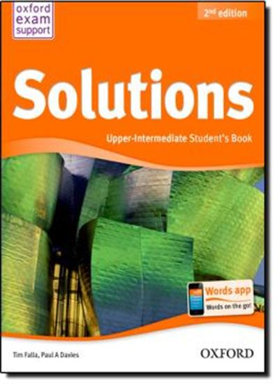 Picture of SOLUTIONS UPPER-INTERMEDIATE SB - 2ND ED