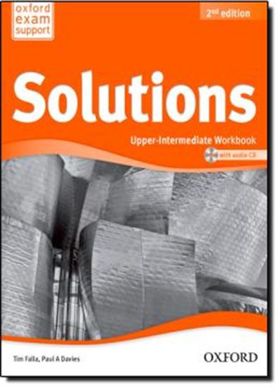 Picture of SOLUTIONS UPPER-INTERMEDIATE WORKBOOK AND AUDIO CD PACK - 2ND ED