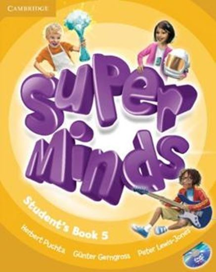 Picture of SUPER MINDS BRITISH 5 SB WITH DVD-ROM