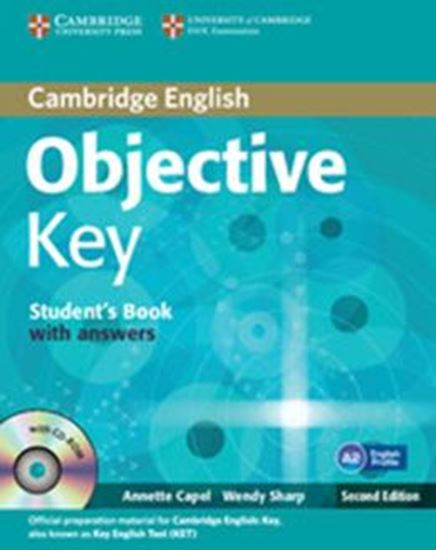 Picture of OBJECTIVE KEY STUDENTS BOOK WITH ANSWERS WITH CD-ROM - 2ND ED