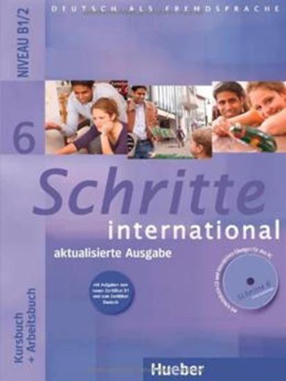 Picture of SCHRITTE INTERNATIONAL 6 AKTUALISIERTE AUSGABE - KURSBUCH + ARBEITSBUCH MIT AUDIO-CD ZUM ARBEITSBUCH UND INTERAKTIVEN ÜBUNGEN