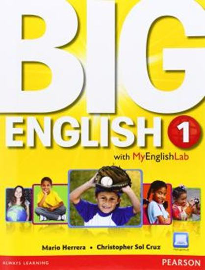 Picture of BIG ENGLISH 1 SB WITH MYENGLISHLAB