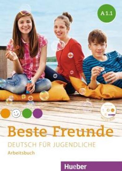Picture of BESTE FREUNDE A1/1 ARBEITSBUCH MIT CD-ROM DEUTSCH FUR JUGENDLICHE