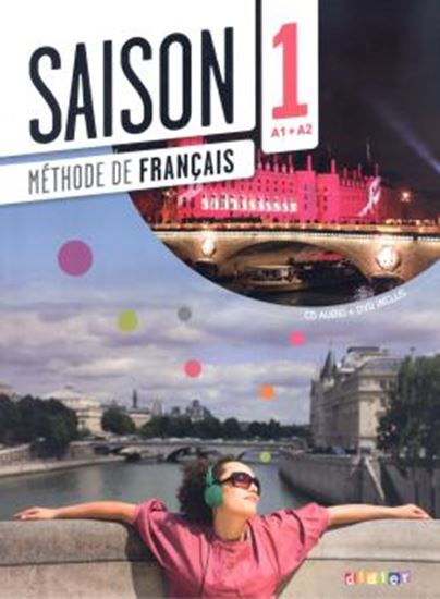 Picture of SAISON 1 - LIVRE ELEVE + CD AUDIO + DVD (A1+A2)