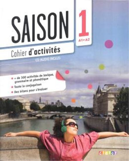 Picture of SAISON 1- CAHIER D´ACTIVITES + CD (A1+A2)