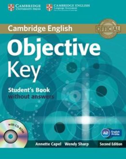 Picture of OBJECTIVE KEY SB WITHOUT ANSWERS WITH CD-ROM - 2ND ED