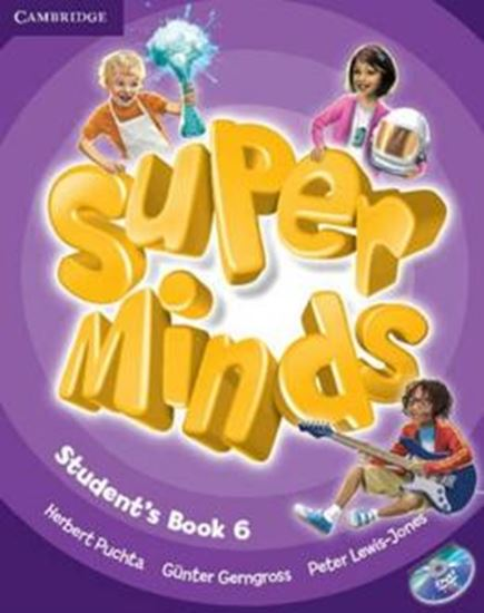 Picture of SUPER MINDS BRITISH 6 STUDENTS BOOK WITH DVD-ROM