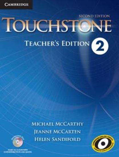 Picture of TOUCHSTONE 2 TEACHERS EDITION WITH ASSESSMENT AUDIO CD/CD-ROM - 2ND ED