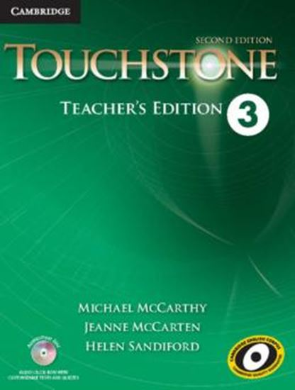 Picture of TOUCHSTONE 3 TEACHERS EDITION WITH ASSESSMENT AUDIO CD/CD-ROM - 2ND ED