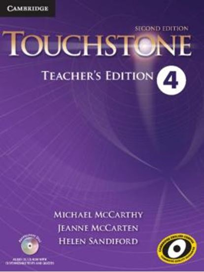 Picture of TOUCHSTONE 4 TEACHERS EDITION WITH ASSESSMENT AUDIO CD/CD-ROM - 2ND ED
