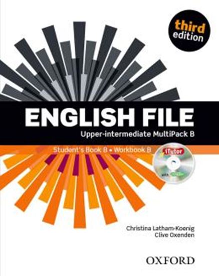 Picture of ENGLISH FILE UPPER-INTERMEDIATE B MULTIPACK - 3RD ED