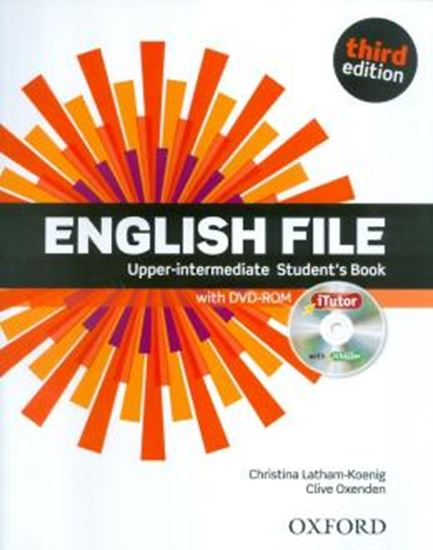 Picture of ENGLISH FILE UPPER-INTERMEDIATE STUDENTS BOOK WITH ITUTOR - 3RD ED