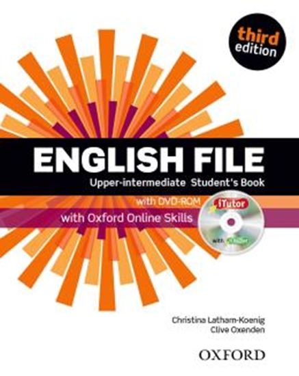 Picture of ENGLISH FILE UPPER-INTERMEDIATE STUDENTS BOOK WITH ITUTOR AND ONLINE SKILLS - 3RD ED