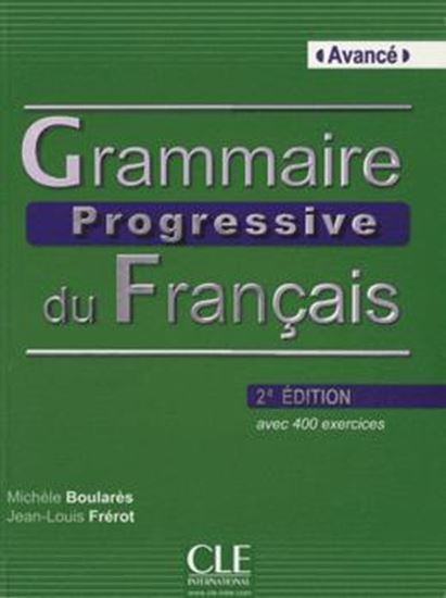 Picture of GRAMMAIRE PROGRESSIVE DU FR. AVANCE - LIVRE + CD AUDIO - 2 EDITION