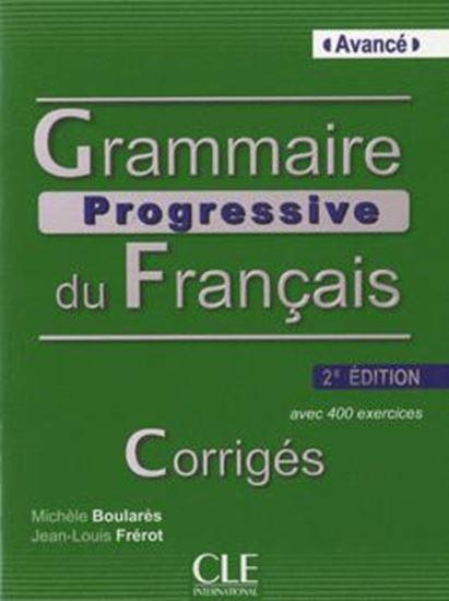Picture of GRAMMAIRE PROGRESSIVE DU FR. AVANCE - CORRIGE (B1 / B2) - 2 EDITION