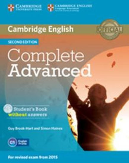Picture of COMPLETE ADVANCED SB WITHOUT ANSWERS WITH CD ROM - 2ND ED WITH CD - ROM