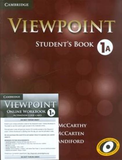 Picture of VIEWPOINT 1 STUDENTS BOOK A WITH ONLINE WORKBOOK A
