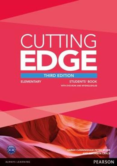 Picture of CUTTING EDGE  ELEMENTARY SB WITH DVD AND MYENGLISHLAB - 3RD ED