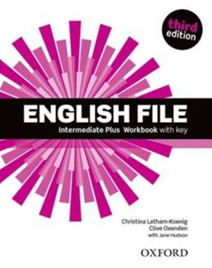 Picture of ENGLISH FILE INTERMEDIATE PLUS WORKBOOK WITH KEY - 3RD ED