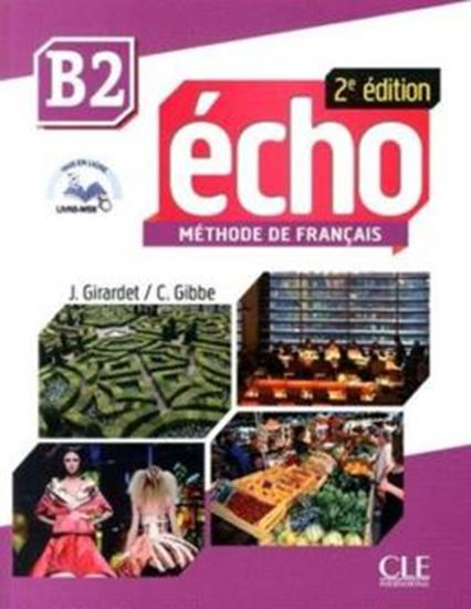 Picture of ECHO B2 - LIVRE + DVD-ROM - 2E EDITION