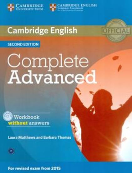 Picture of COMPLETE ADVANCED WORKBOOK WITHOUT ANSWERS WITH AUDIO CD
