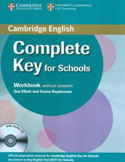 Picture of COMPLETE KEY FOR SCHOOLS WORKBOOK WITHOUT ANSWERS WITH AUDIO CD