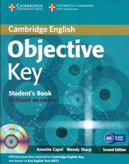 Picture of OBJECTIVE KEY - STUDENTS BOOK WITH CD ROM